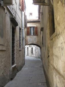 Streets of Capo D'Istria