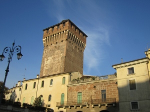 Medieval Tower Entrance to Centro Storico Vicenza