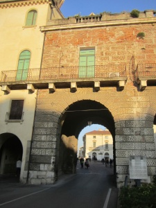 Entrance to Centro Storico Vicenza