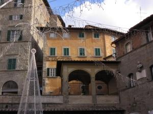 Piazza della Republica Cortona