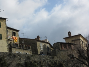 Below Walls of Cortona