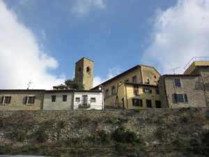 Cortona Above the walls