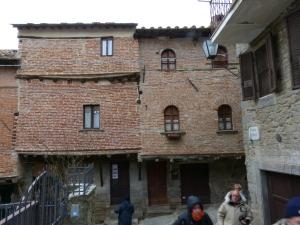 Medieval Houses Cortona