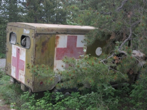 Leftover from the building of the Alaska Highway
