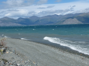 Windy Morning Kluane Lake