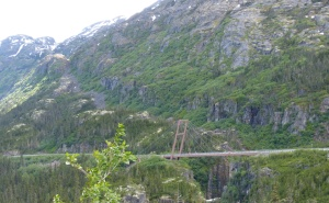 William Moore Suspension Bridge South Yukon Highway