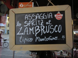 Lambrusco - Mantuan red frizzante
